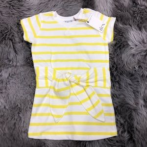 Dex Striped T-Shirt with Ties (PM715)